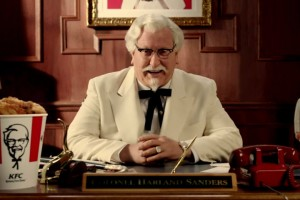 SNL's Darrell Hammond is the new Colonel Sanders in a series of new KFC ads.